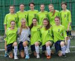 Girls football cup